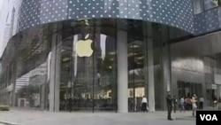 今年3月中國官媒對美國科技巨頭蘋果公司發難.