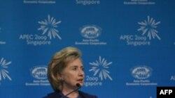 کلینتون از کشورهای آسیایی می خواهد برمه را برای اصلاحات سیاسی زیر فشار بگذارند