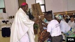 Arcebispo do Saurimo, Dom José Manuel Imbamba
