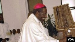Arcebispo do Saurimo, Dom José Manuel Imbamba,