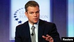 FILE - Actor Matt Damon.