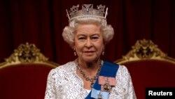 엘리자베스 2세 영국 여왕 (자료사진)