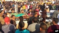 Evakuacija povređenih posle napada na džamiju