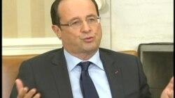 Obama - Hollande Görüşmesi