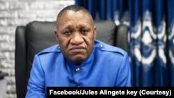 Jules Alingete Key, inspecteur général ya Inspection générale des Finances, Kinshasa, 10 juin 2021. (Facebook/Jules Alingete key)