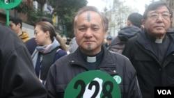 台湾基督长老教会总会议长舒度大达(美国之音 杨明)