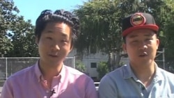 Asian-American Brothers Use Comedy to Attract Voters
