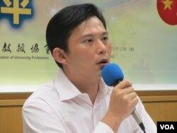 时代力量党主席黄国昌
