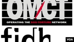 logo of FIDH and OMCT