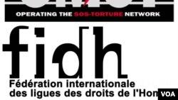 Le logo de la FIDH et OMCT.