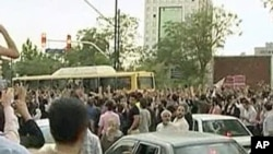 Student protests in Iran.