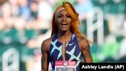 SHA'CARRI RICHARDSON, atleta americana de 100 metros