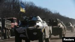 محصور شہر سے یوکرین کے فوجیوں کا انخلا