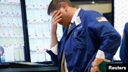El promedio industrial Dow Jones cayó 2 por ciento, y en la semana acumuló una pérdida de 3,5 por ciento.