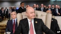 Perezida wa Iraki Barham Saleh
