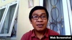 Nur Hasyim, dosen Universitas Islam Negeri (UIN) Walisongo, Semarang, Jawa Tengah. (Foto: screengrab)