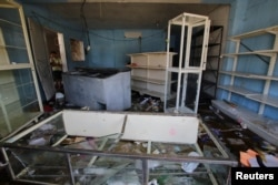 A general view of the damage at a mini-market after it was looted in Puerto Ordaz, Venezuela, Jan. 9, 2018.