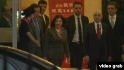 中國官員接待14日訪問的敘利亞總統特使