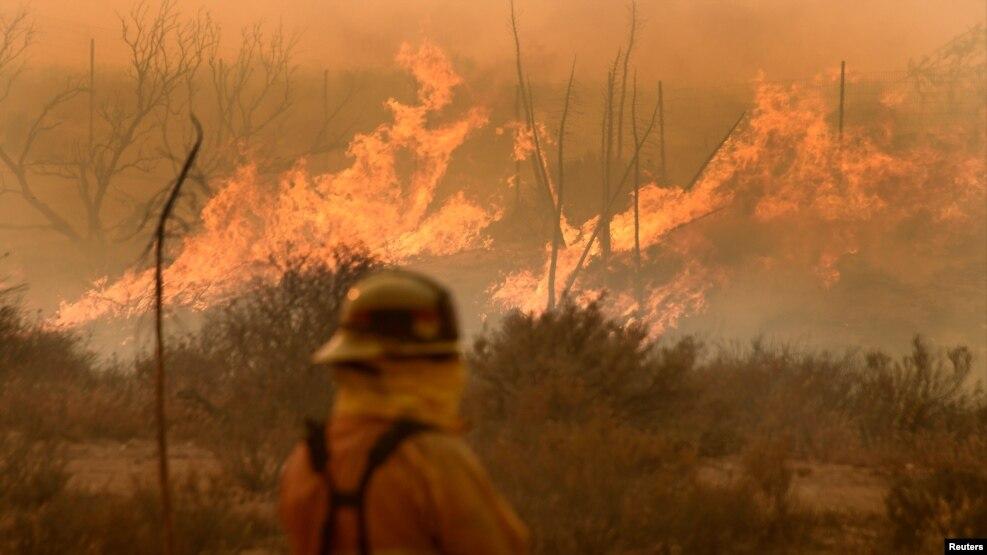 Sezoni i zjarreve në Kaliforni