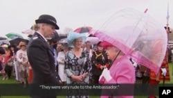 Nữ hoàng Elizabeth mô tả các giới chức Trung Quốc là 'hết sức bất lịch sự' trong một bình luận.