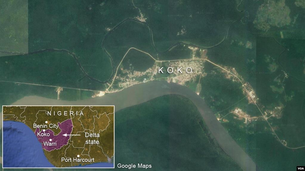 Toxic Waste Dumped in Community in Southeast Nigerias Delta