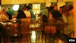 Tehranda kafe