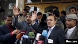 مذاکره کنندگان یمنی در نشست کویت