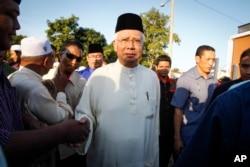 FILE - Malaysia Najib Razak.
