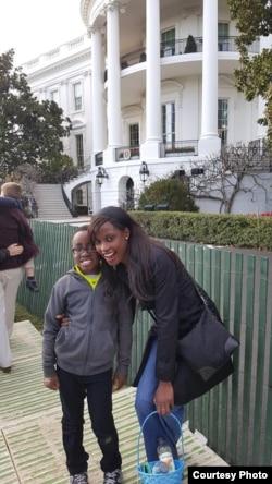 Doreen Taderera With Son Anthony