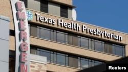 Hospitali ya Presbyterian iliyoko Dallas, Texas ndipo anapotibiwa mgonjwa wa Ebola, October 1, 2014.