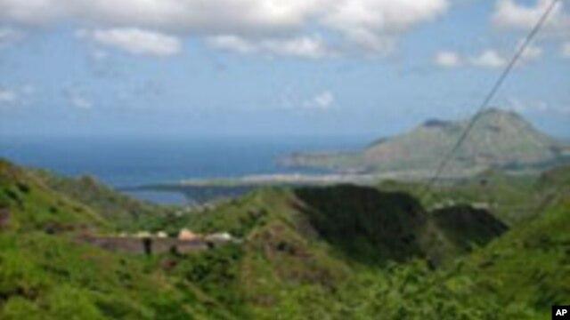 Vista do Tarrafal, Cabo Verde