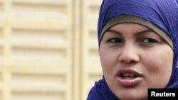 Activist Samira Ibrahim (File photo).