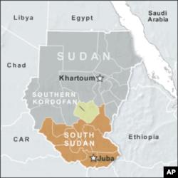 蘇丹地圖(資料圖片)