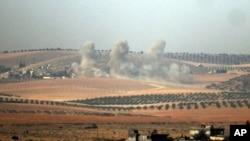 سربازان ترک بیش از ۸۰ موضع را در داخل سوریه هدف قرار داده اند