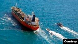 韩国一艘油轮2021年1月4日被伊朗扣押