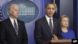 Si Joe Biden lanza candidatura presidencial, Obama tendría que elegir entre él o Hillary Clinton.