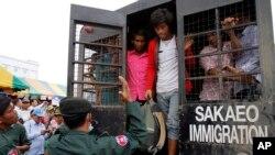 Hội Ân xá và các tổ chức khác đã bày tỏ quan ngại về việc quân đội đàn áp công nhân di trú từ các nước láng giềng như Kampuchea, Myanmar, Lào và Việt Nam.