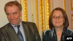 Валерий Гергиев и Марина Адамович