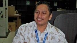 Kepala Humas Badan Narkotika Nasional (BNN) Sumirat memberikan penjelasan di Jakarta (foto: Andylala Waluyo).