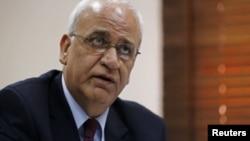 Ketua juru-runding Palestina, Saeb Erekat (foto: dok).