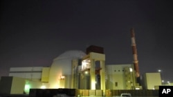 FILE - The reactor building of Iran's Bushehr Nuclear Power Plant is seen, just outside the port city of Bushehr 750 miles (1245 kilometers) south of the capital Tehran, Iran.