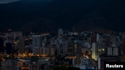 FILE - The Caracas, Venezuela skyline, Feb. 25, 2012.