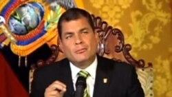 Correa anunció referéndum para eliminar diarios en papel