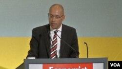 Jorg Asmussen, anggota dewan eksekutif Bank Sentral Eropa (foto: dok).
