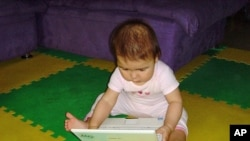 According to BabyFirst's homepage, child development experts have invented a way for babies and toddlers to use the computer themselves.