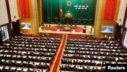 Lễ khai mạc Kỳ họp thứ 6 Quốc hội khóa 13 tại Hà Nội, ngày 21/10/2013.