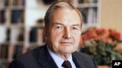 ဘီလီယံနာ ပရဟိတအလွဴ ရွင္ David Rockefeller