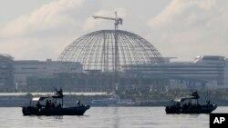 舉行亞太經合組織峰會地點外﹐ 11月13日菲律賓海軍已部署以保安全。