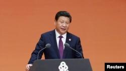 中國國家主席習近平在亞信峰會召開前夕發表講話