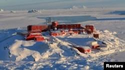 Chile's Bernardo O'Higgins Riquelme army base in Antarctica